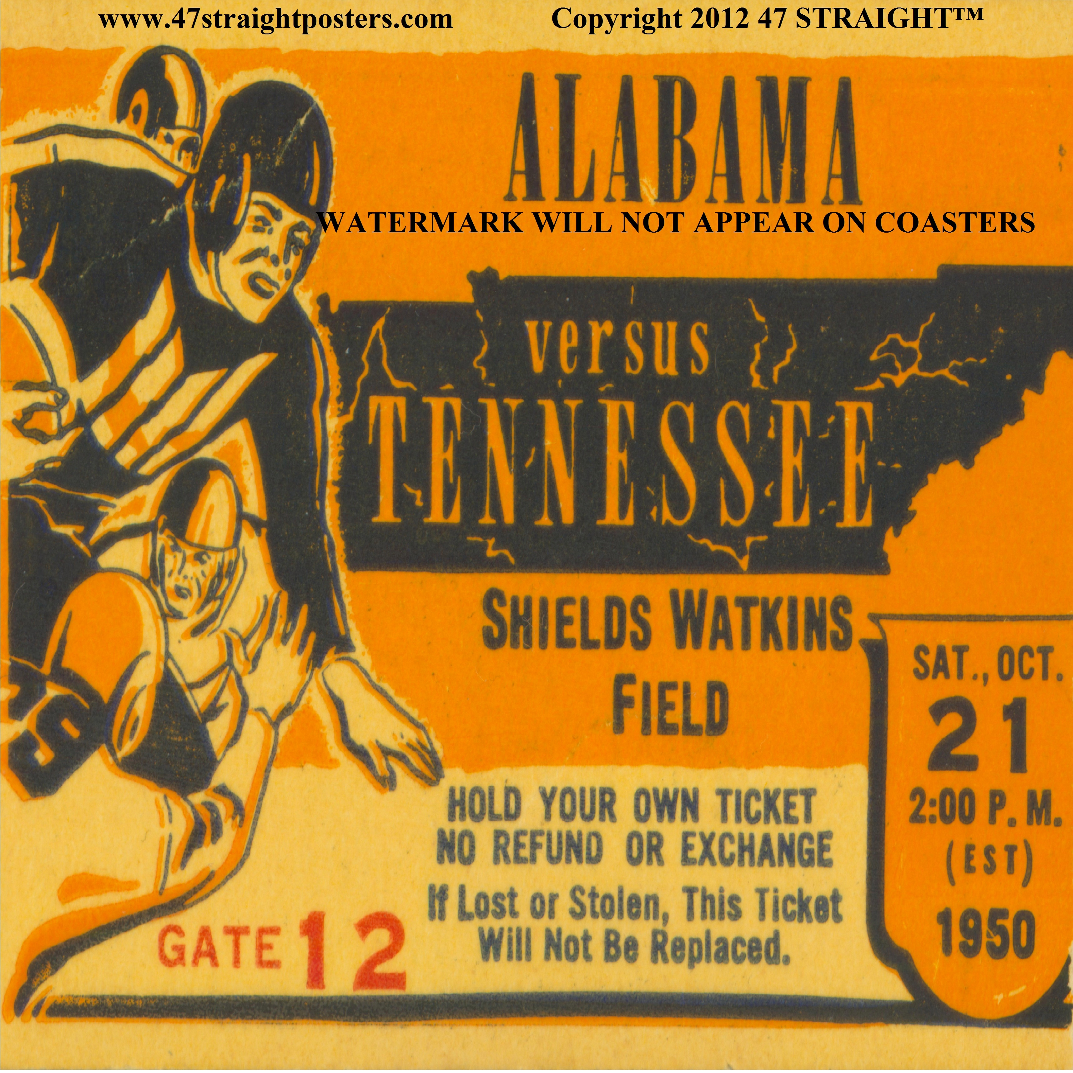 Vintage College Football Design – Trenches